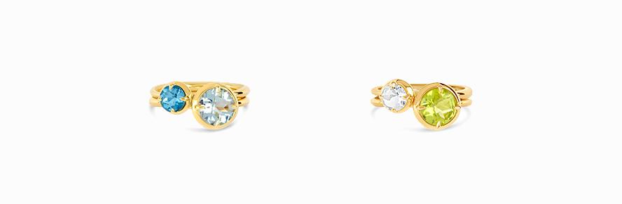 Silver & Vermeil Rings