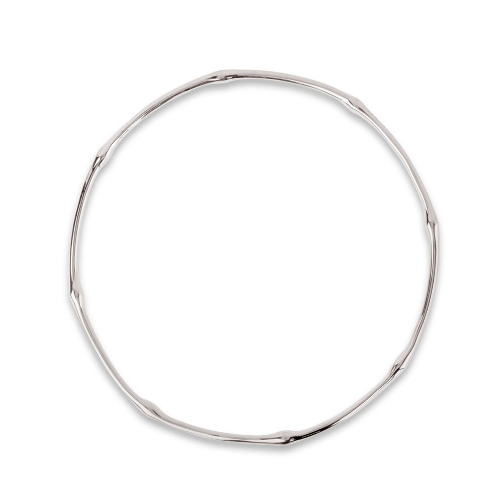 Dinny Hall Bamboo Bangle in Sterling Silver