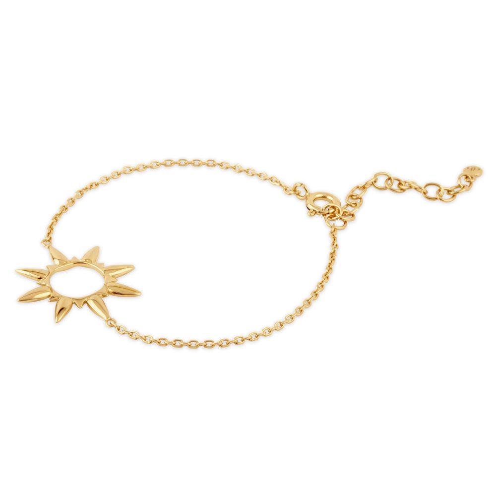 Sunbeam shaped bracelet