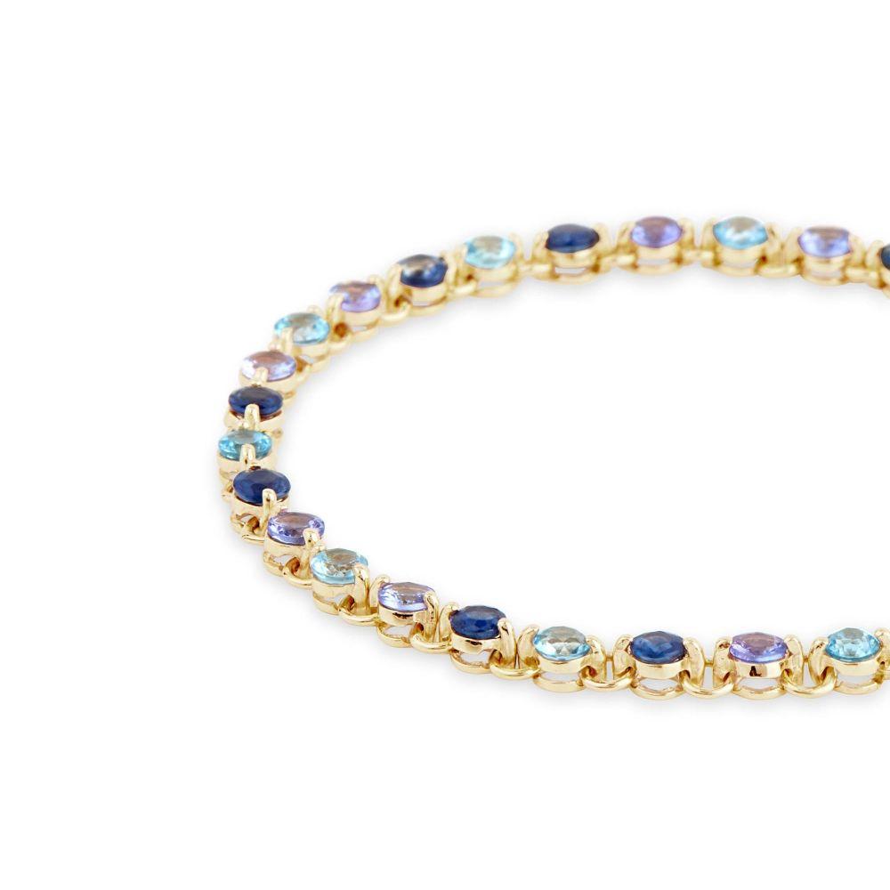 Ombre Tennis Bracelet
