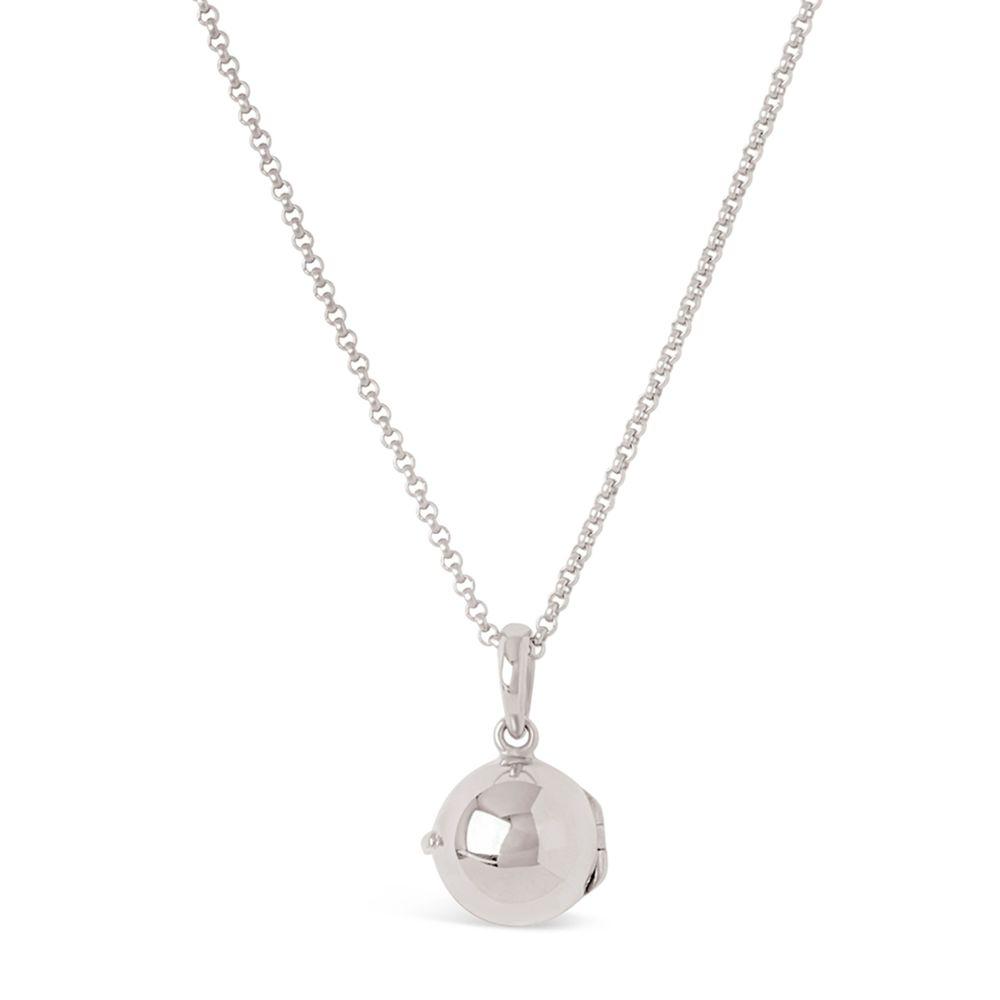 Sterling Silver Small Orb Locket