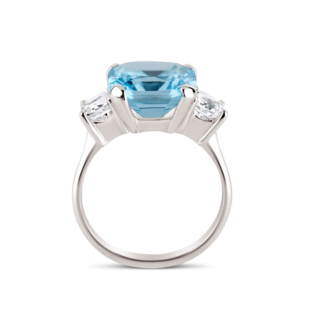 Dinny Hall cocktail topaz ring