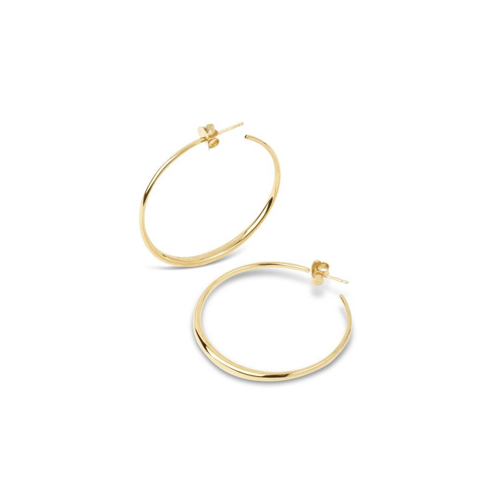 Dinny Hall 10 karat Gold Hoop Earrings