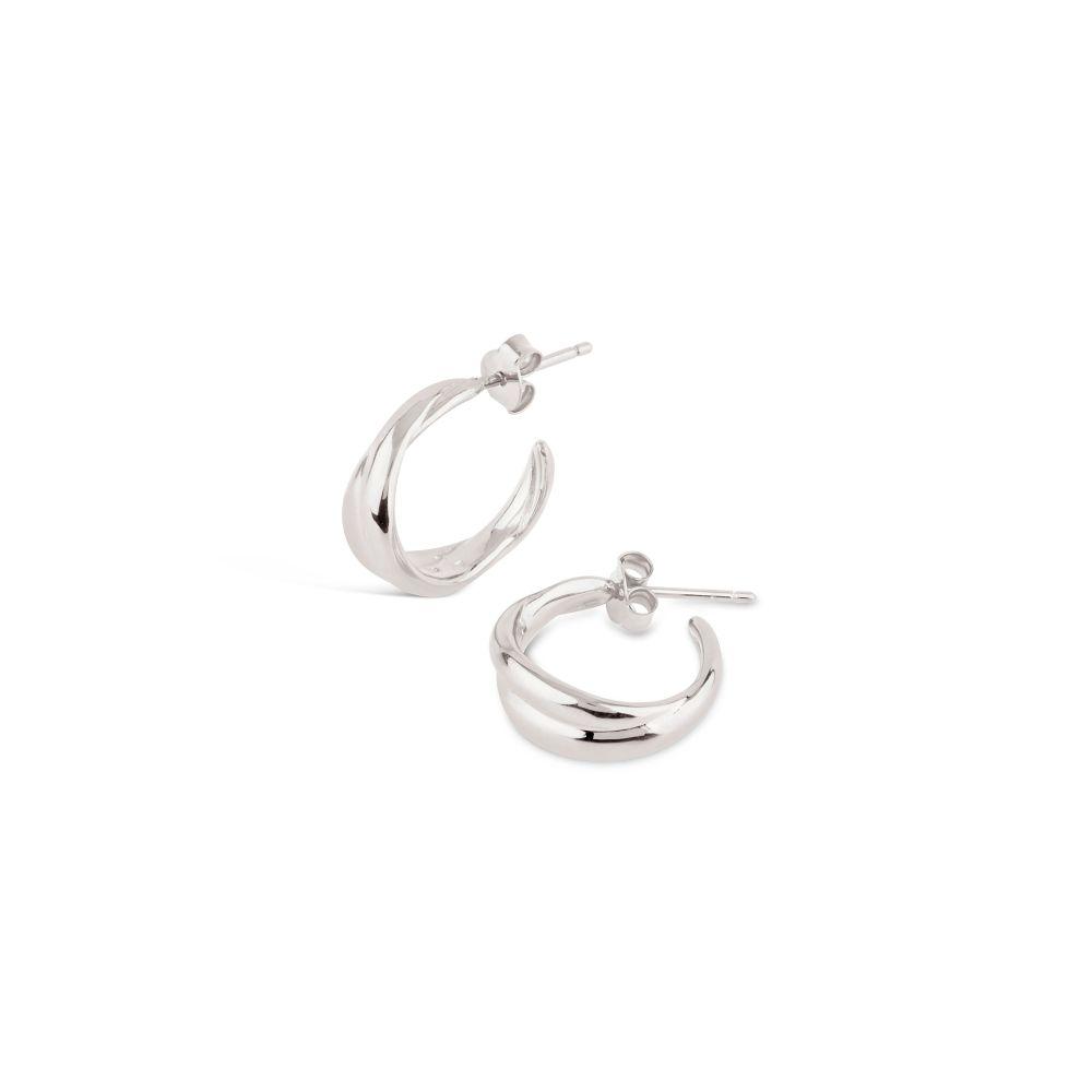 Dinny Hall Twist Mini Hoop Earrings