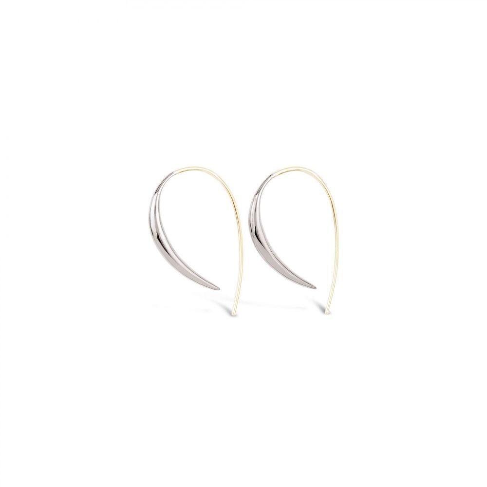 Dinny Hall sterling silver hook earrings