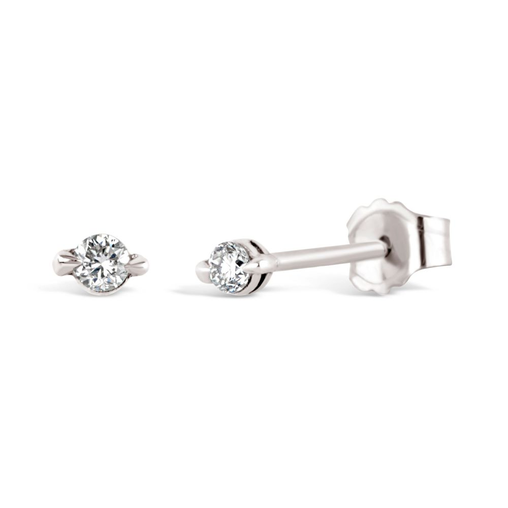 Dinny Hall Shuga 14k Studs in White Gold