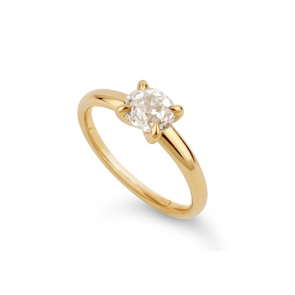 Dinny Hall Lyla 18k Gold Old Cut Diamond Ring