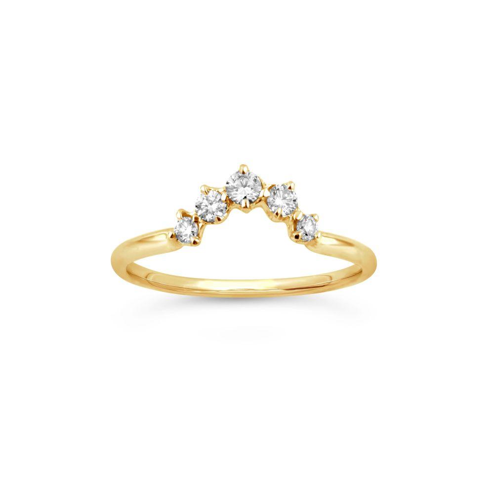 Dinny Hall Lily 18K Diamond Crown Ring