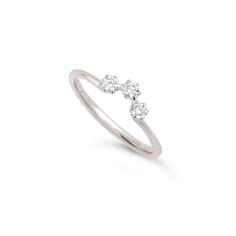 Elyhara 18K Diamond Crown Ring