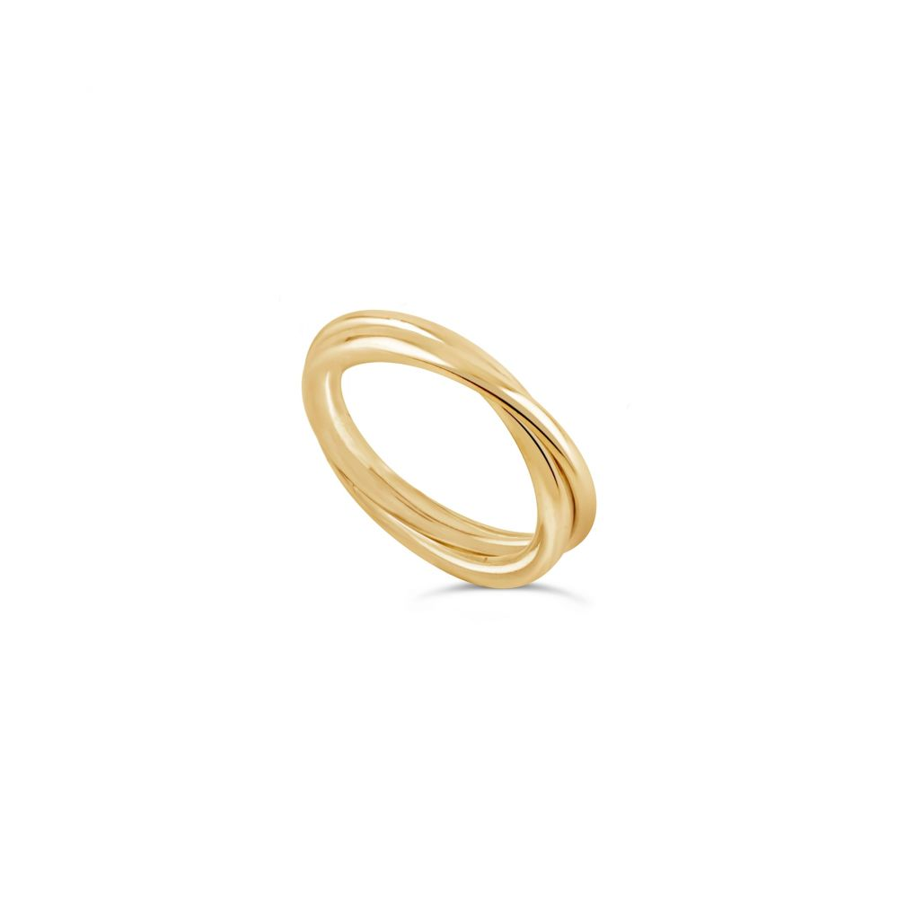 Solid Gold Plain Band Ring