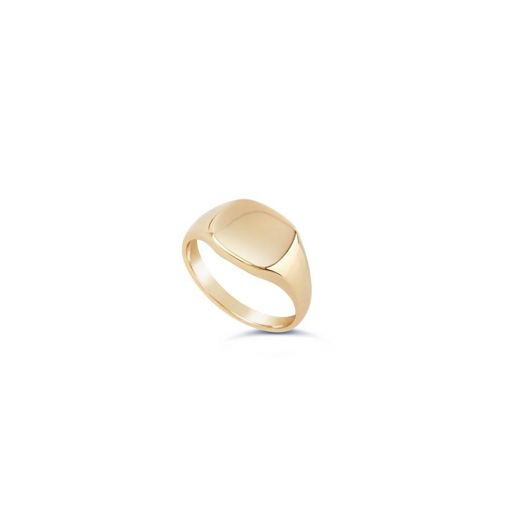 10 Karat Gold Pinky Signet Ring