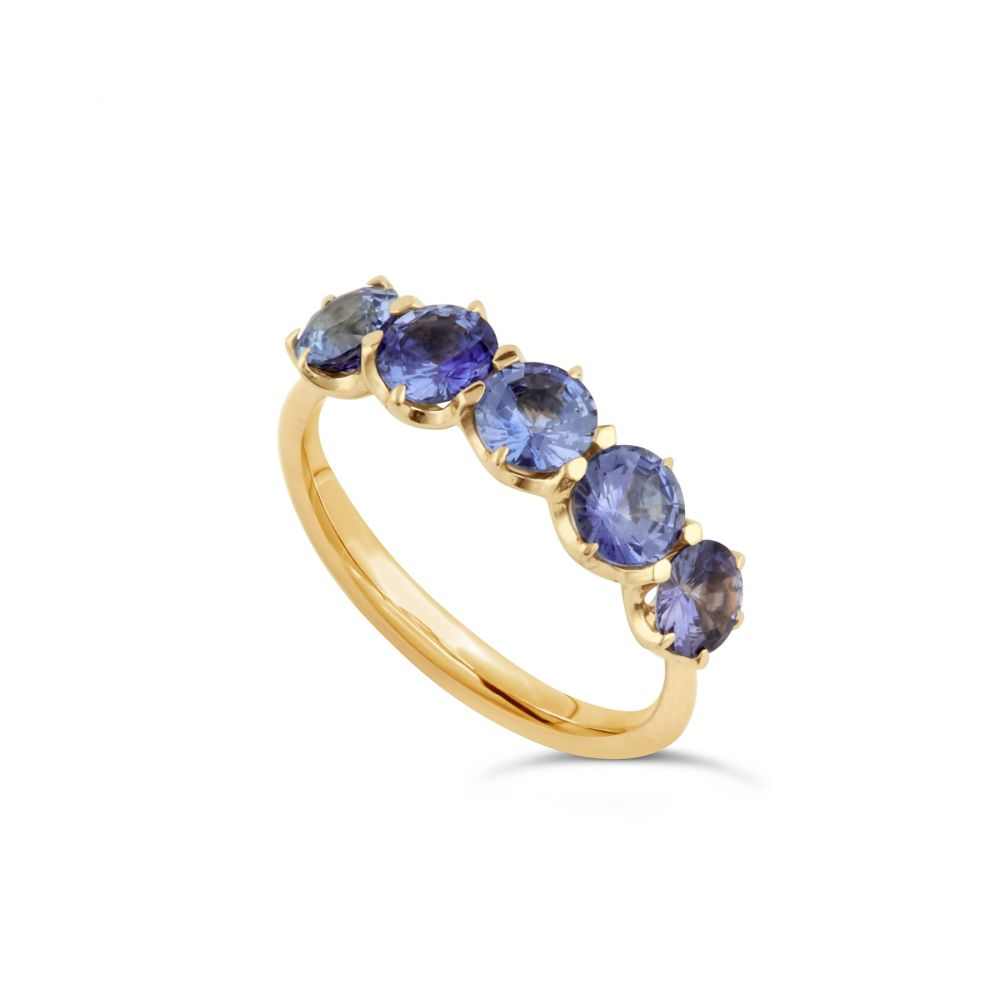 Dinny Hall Ombre Sapphire Ring