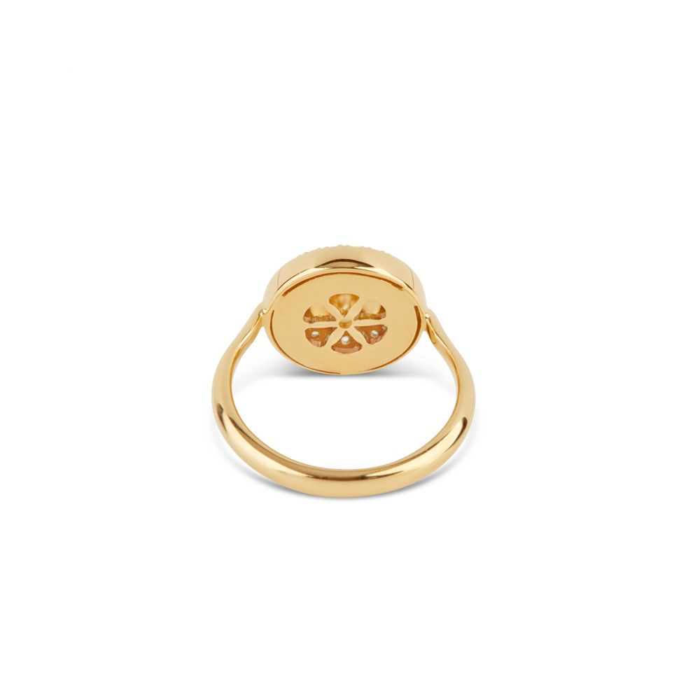 14k yellow gold pinky ring