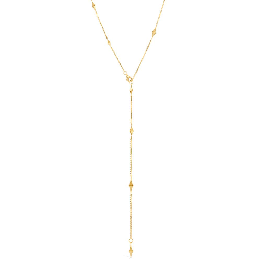 Gold Plated multi-way necklace