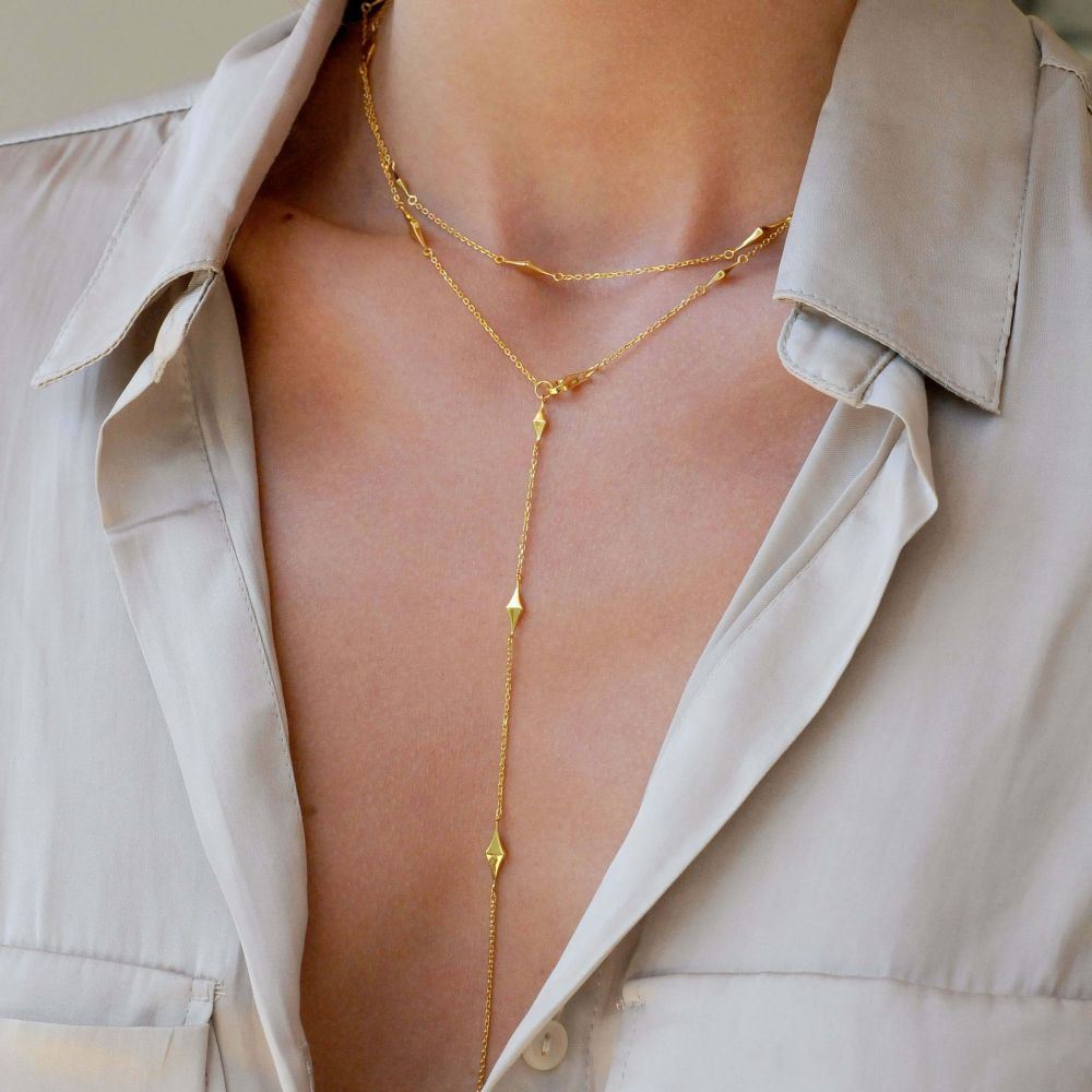 Dinny Hall Gold Plated Long Necklace