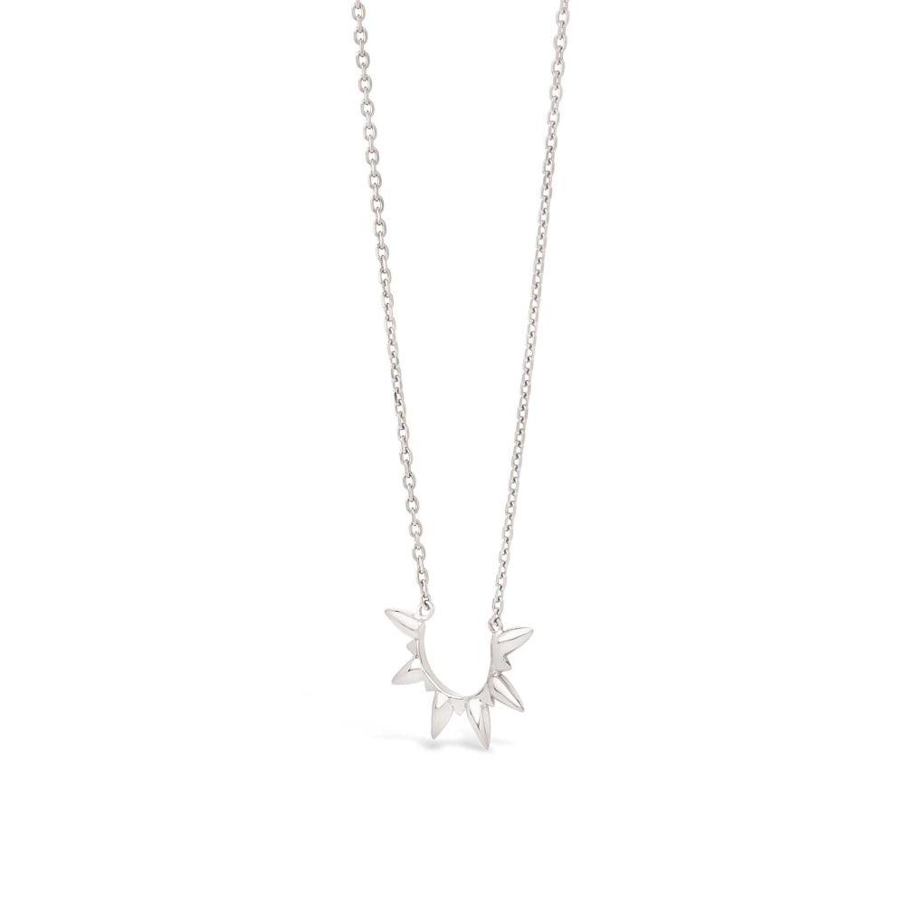Sunbeam shaped necklace