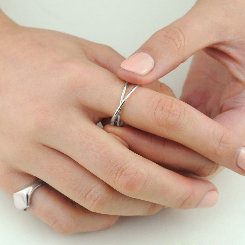 Sterling Silver Friendship Ring