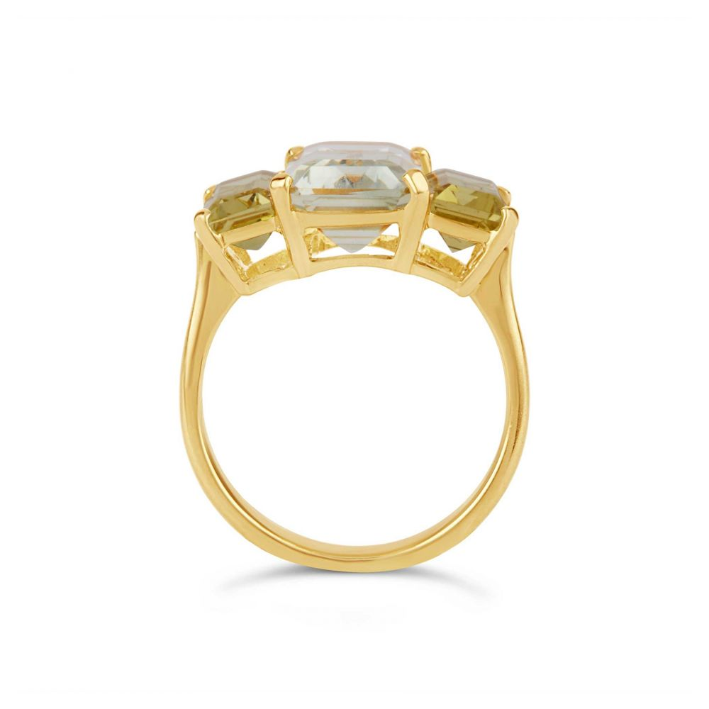 Statement Gold Cocktail Ring
