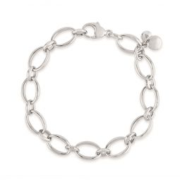 Handmade Medium Oval Link Chain Bracelet