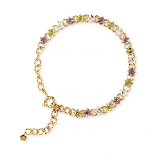 Dinny Hall Gem Drop Line Bracelet