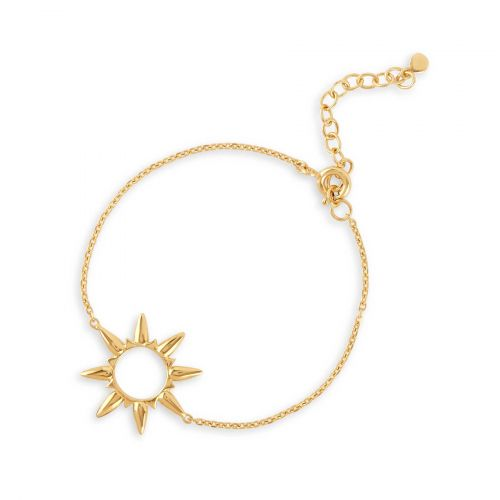 Gold Sunbeam bracelet