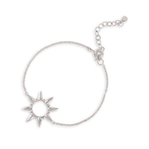 Silver Sunbeam bracelet