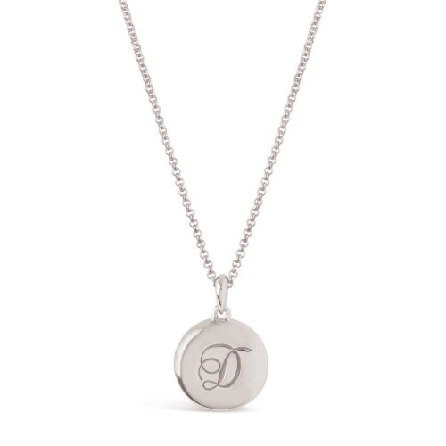 PERSONALISED LARGE INITIAL CHARM PENDANT