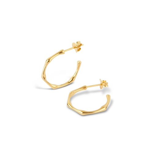 Dinny Hall Small Bamboo Hoops