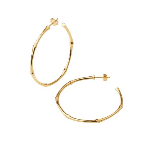 Dinny Hall Large Bamboo Hoops