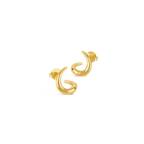 Dinny Hall Toro Small Twist Stud Earrings