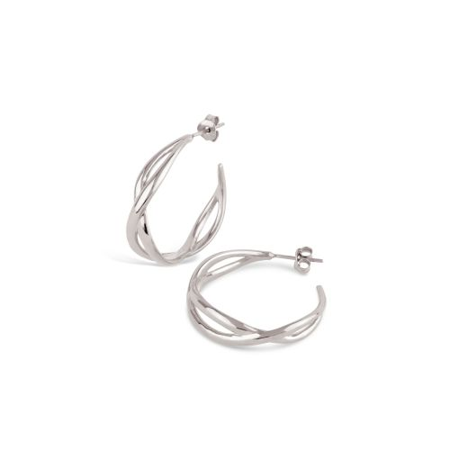 Dinny Hall Twist Small Open Hoops