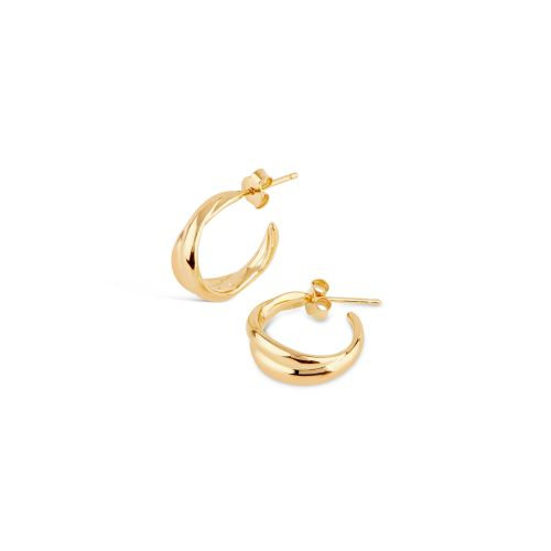 Dinny Hall Twist Mini Hoop Earrings