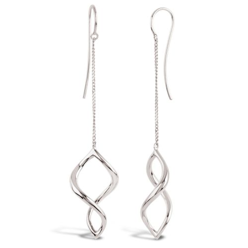 Dinny Hall Twist Small Chain Drop Earrings