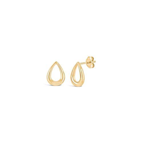 Small Raindrop Stud Earrings