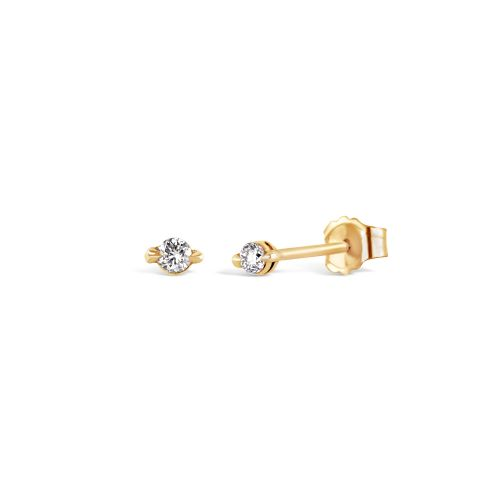 Shuga 14k Gold Diamond Studs