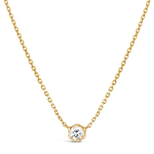 Elyhara 18k Yellow Gold 0.25ct Diamond Pendant