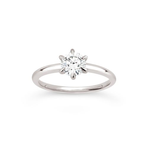 Dinny Hall Lily 18K Diamond Solitaire Ring