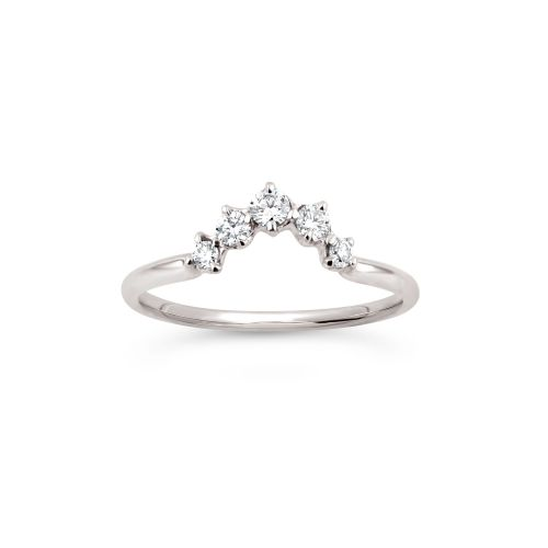 Dinny Hall Lily 18K Diamond Crown Ring