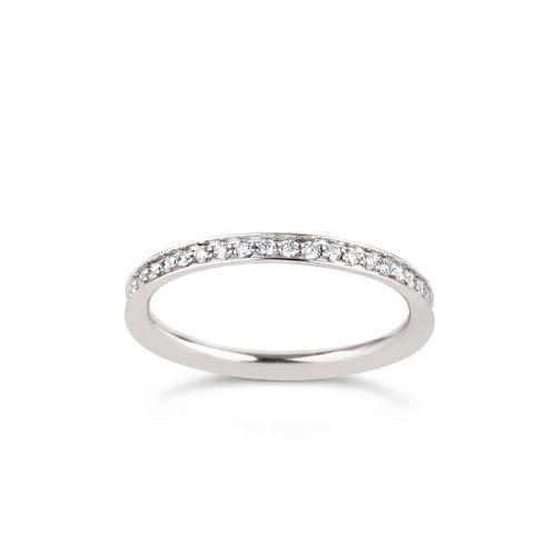 Thread set 18k Diamond Set Full Eternity Ring