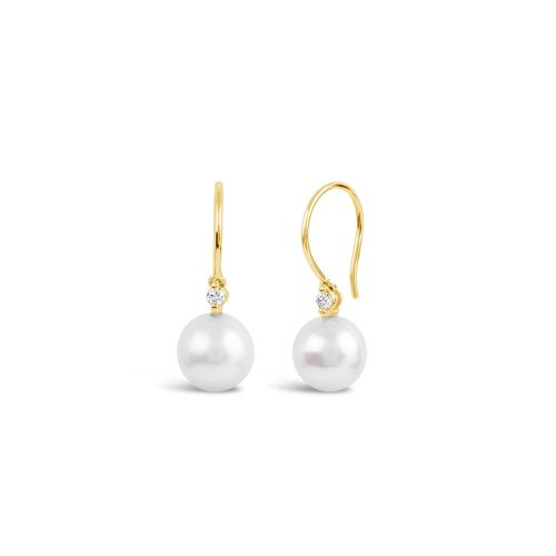 Shuga 14k Gold Pearl Drop Earrings
