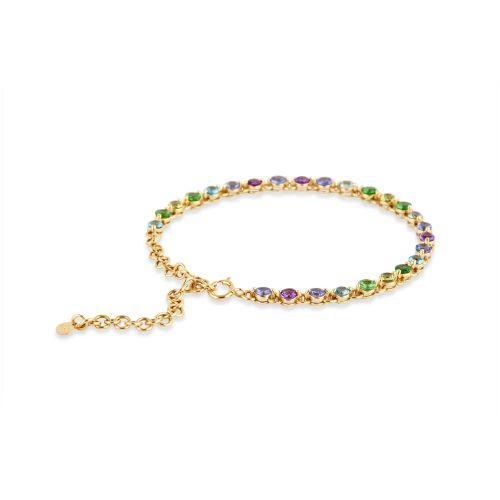 Shuga 14k Gold Ombre Tennis Bracelet