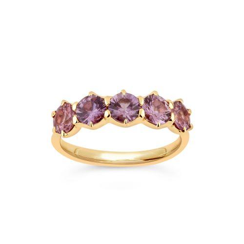 Elyhara 18k Pink Sapphire Ring