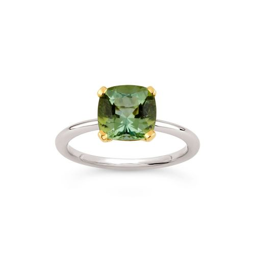 Sophie 18k Gold Fine Green Tourmaline Ring