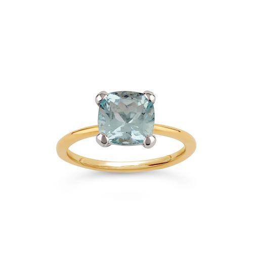 Sophie 18k Gold Fine Beryl Ring