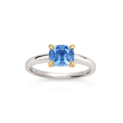 Lyla 18K Gold Fine Blue Sapphire  Ring