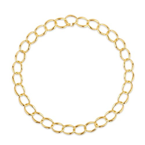 Dinny Hall Handmade medium curb chain necklace
