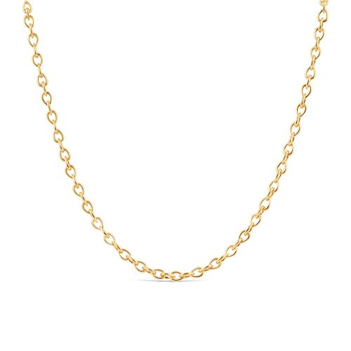 Raindrop Small Link Necklace