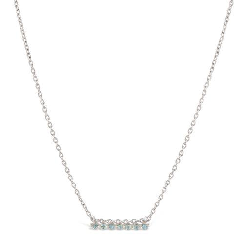 Silver Shuga Bar Necklace
