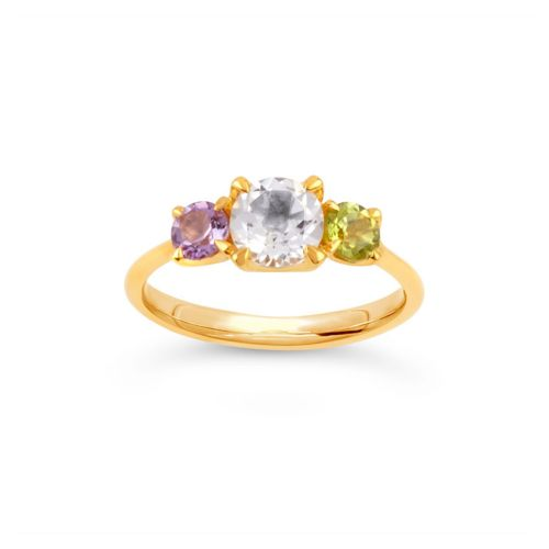 Suffragette Micheala Trilogy Ring