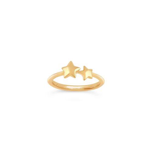 Bijou Duo Star Pinky Ring